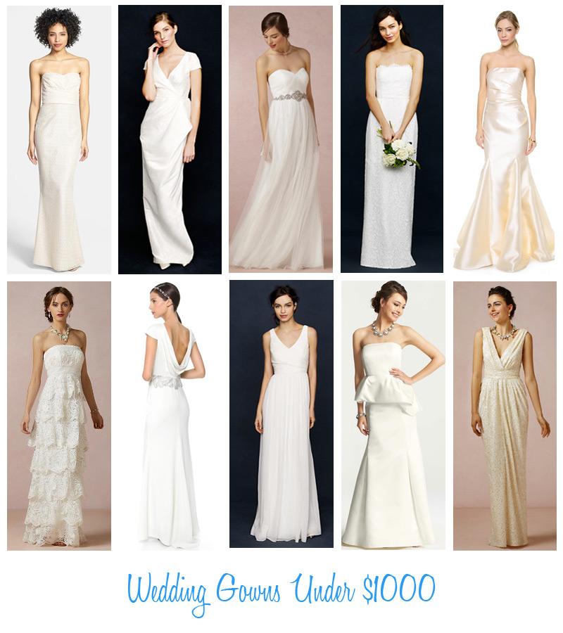 Fashion Friday: Wedding Gowns Under $1000