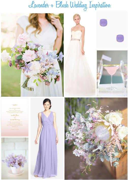 Availendar: Lavender + Blush Wedding Inspiration