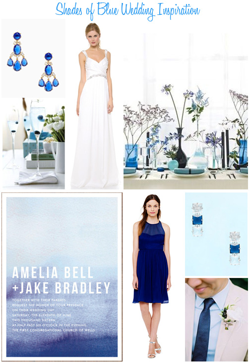 Availendar: Shades of Blue Wedding Inspiration