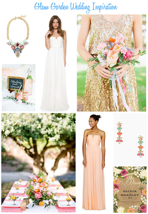Availendar: Glam Garden Wedding Inspiration
