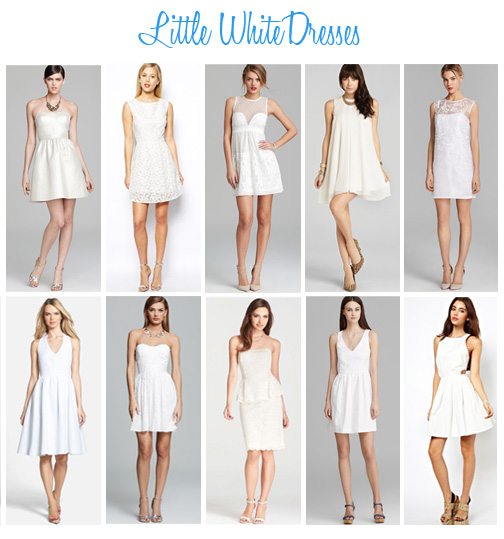 Availendar: Little White Dresses