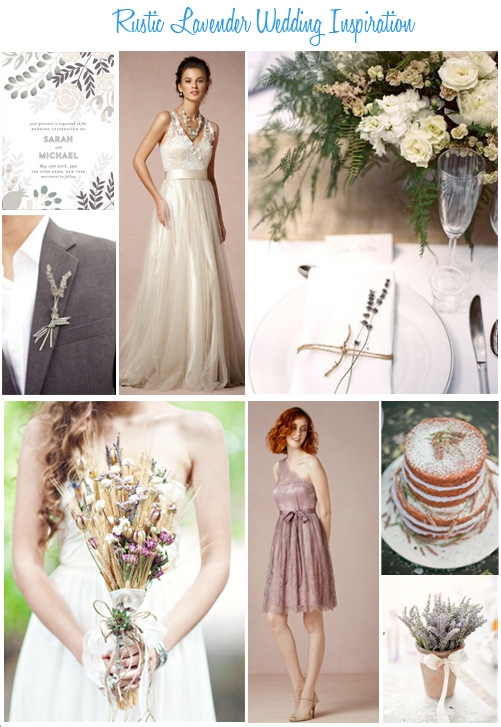 Availendar: Rustic Lavender Wedding Inspiration