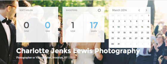 Availendar: Charlotte Jenks Lewis Photography