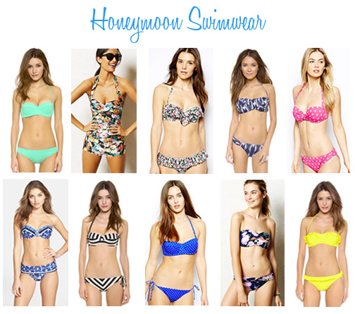Availendar: Honeymoon Swimwear