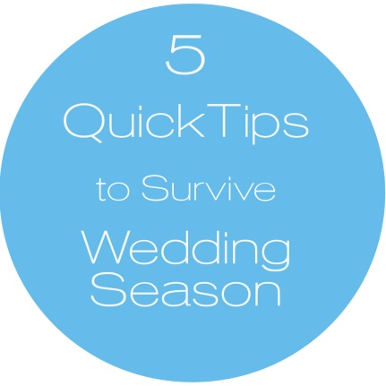 Availendar: 5 Quick Tips to Survive Wedding Season