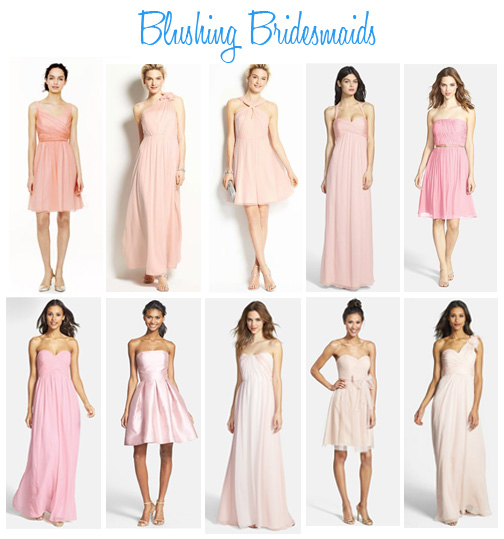 Availendar: Blushing Bridesmaids