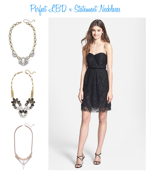 Availendar: Perfect LBD + Statement Necklaces