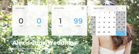 Availendar: Alexis June Weddings
