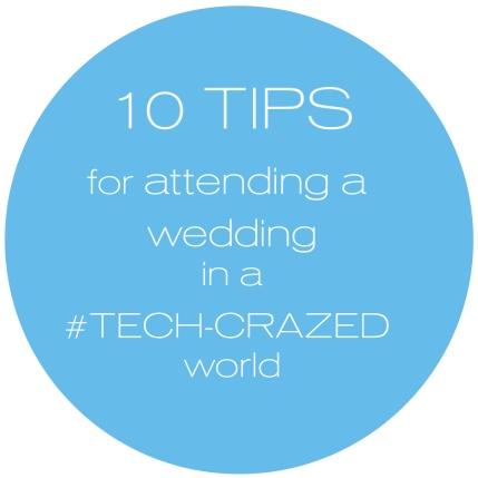 Availendar: 10 Tips for Attending a Wedding in a Tech-Crazed World