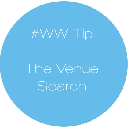 Availendar: #WW Tip - The Venue Search