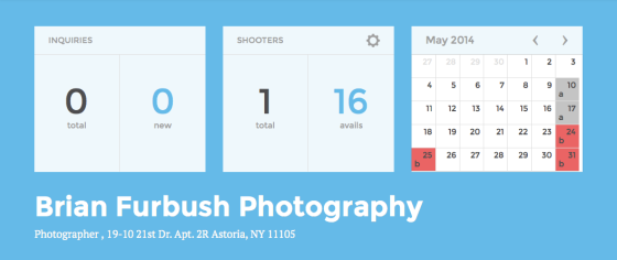 Availendar: Brian Furbush Photography